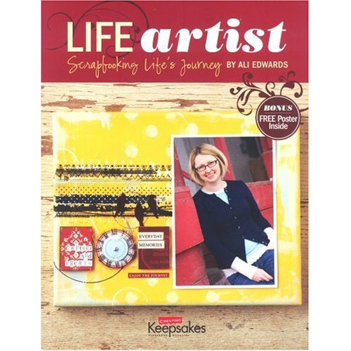 ALI EDWARDS LIFE ARTIST BOOK $45.00