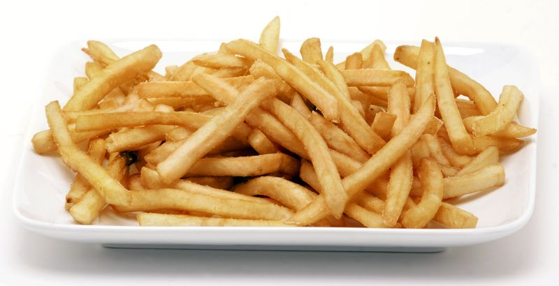 French-Fries-Plate