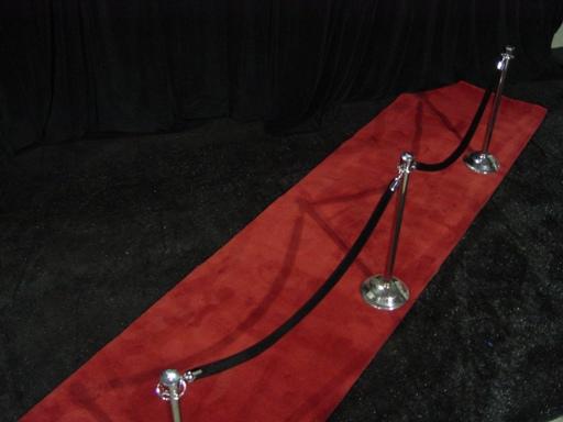 Rope, stanchion, & red carpet 077