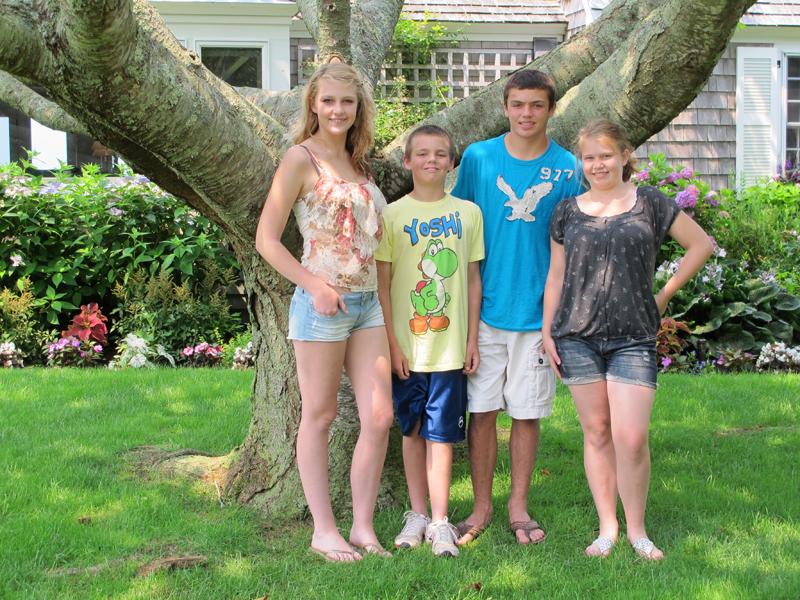 Kids in Cape