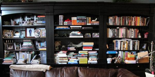 BookshelvesBEFORE